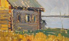 Ирина Балдина. Наш дом. Карт.м.,16х23. 1962