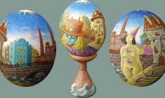 Валерий Есауленко. Пасхальное яйцо «ВОДА И КАМЕНЬ»