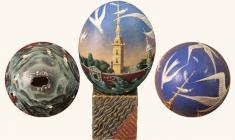 Есауленко Валерий. Пасхальное яйцо «ВОДА И КАМЕНЬ»