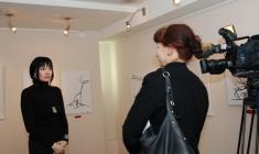 Интервью о выставке с Зинаидой Курбатовой