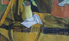 Геворк Котьянц. Натюрморт. Х.м.,47х50,5. 1970