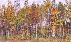 Дмитрий Маевский. Осень. Х.м.,45х65. 1979