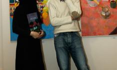 """На открытии выставки """"Грёзы о Востоке"""" в галерее """"АРКА"""". 2011"""