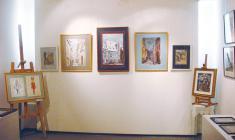 """Фрагмент экспозиции выставки """"Династия"""" в галерее """"АРКА"""". 2010"""