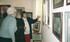 """На открытии выставки """"Династия"""" в галерее """"АРКА"""". 2010"""