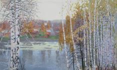 Осень. Среда обитания. Х.акр. 60х75. 2008