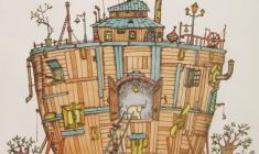 """Александр Хагемейстер. Триптих """"Ноев ковчег."""" Бум, офорт., 50х40. 2010"""