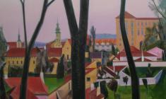 Николай Романов. Прага. Х.м. 120х90. 2014