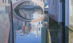 Николай Романов. Прогулка по утренней Венеции. Х.м.110х70. 2012