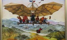 Халида Шимова. Полёт. Х.м.,60х70. 2008