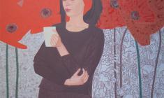 Юлия Вальцефер. Ксения. Х.акр.100х90. 2011