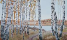 Вальцефер Юлия. Золотая осень. Х.акр. 60х70. 2008.
