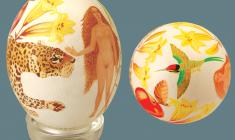 Юлия Вальцефер. Пасхальное яйцо «ЖЕНСКИЙ ДЕНЬ»