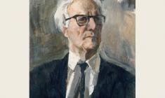 В. Селезнёв. Портрет художника Михаила Платунова. Х.м.,58х44. 1972