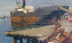 Александр Татаренко. Одесса. Х.м.,41х50. 1953