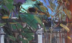 Арсений Семёнов. Петропавловский собор в Ленинграде. Карт.м.,48,2х32,8. 1960