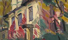 Арсений Семёнов. Осенняя тема. Карт.м., 69,5х49,5. 1959