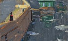Арсений Семёнов. Весна на Неве. Карт.м.,69х49,3. 1963