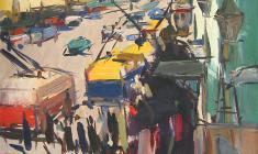 Арсений Семёнов. Невский проспект. Карт.м.,75х50,5. 1959