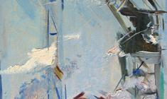Арсений Семёнов. Ялта. В парке. Карт.м.,34,5х49,4. 1959