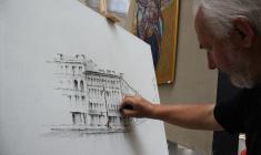 Мастер-класс Уго Баракко в ЦВЗ «Манеж»