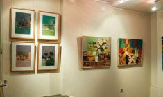 """Фрагмент экспозиции в галерее """"АРКА"""". 2011"""