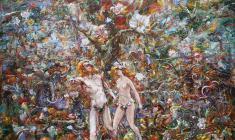 Изгнание из рая.117х73.2005