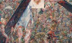 Несение креста.150х110 2006